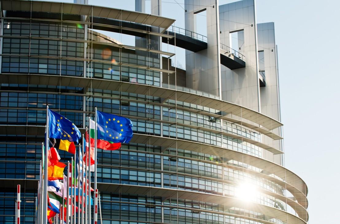 EU building Strasbourg