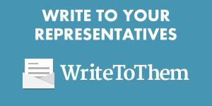 Write To Them logo