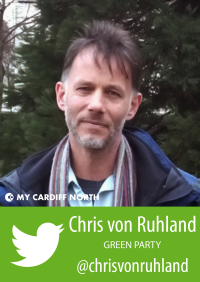 Chris von Ruhland profile graphic