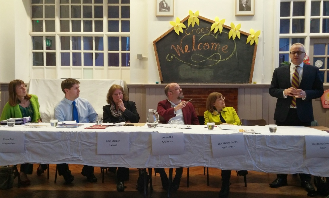 Llandaff North hustings